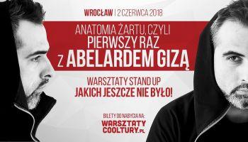 Abelard Giza poprowadzi warsztaty ze stand-upu! [fot. materiały prasowe]