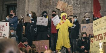 To jest wojna - Manifestacja w Krakowie
