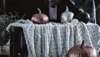 Halloween w stylu glamour