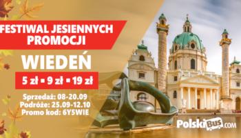 Festiwal Jesiennych Promocji! Wiedeń od 9 zł!