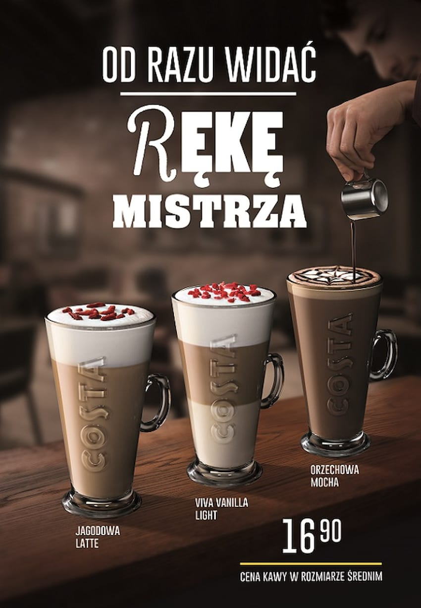 Costa Coffee na wiosnę