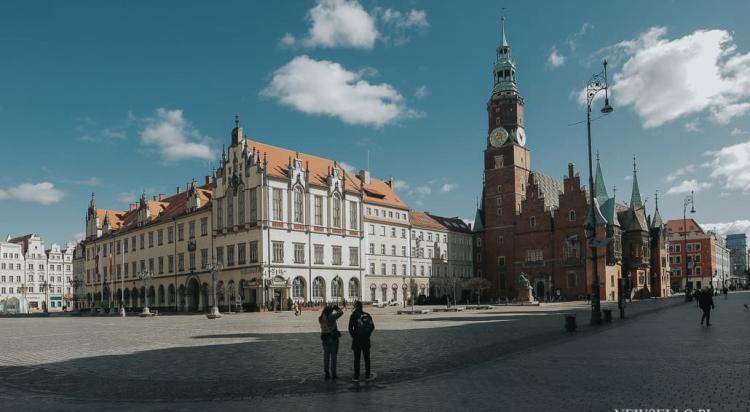 Wrocław 14.03.2020: Koronawirus 2020