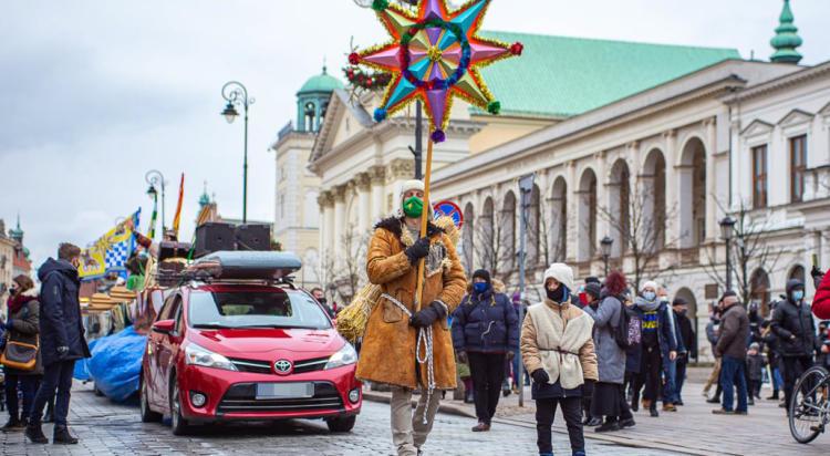 Orszak Trzech Króli przemaszerował ulicami Warszawy