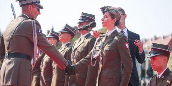 Uroczysta promocja oficerska w Akademii Wojsk Lądowych
