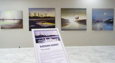 Światy równoległe - wystawa prac Barbary Hubert