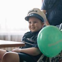 Fundacja Mam Marzenie pomogła małej Malwince zostać policjantką!