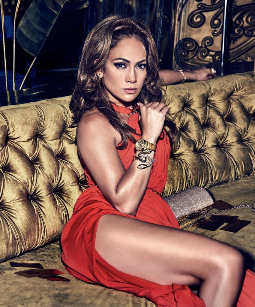 Jennifer Lopez  promuje nową kolekcję zegarków GUESS