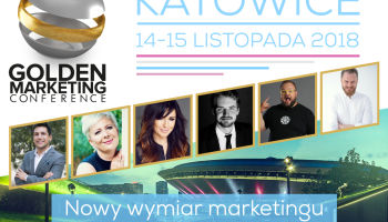 Golden Marketing Conference  już 14-15 listopada 2018 w Katowicach