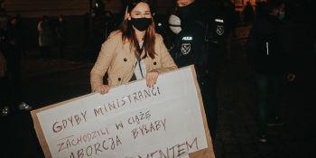 Strajk Kobiet: Noc wieszaka - manifestacja we Wrocławiu