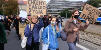 Młodzieżowy Strajk Klimatyczny we Wrocławiu
