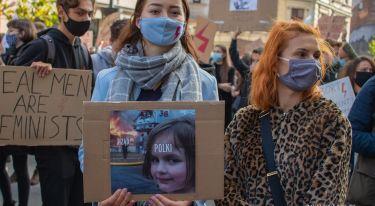 Strajk Kobiet: To jest Wojna - strajk studentów w Łodzi