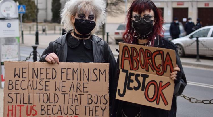 Nasze ciała krzyczą DOŚĆ! - manifestacja w Lublinie