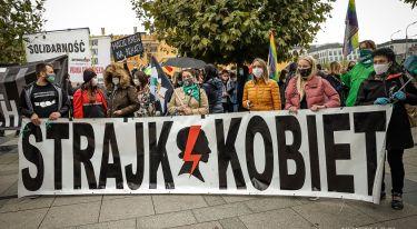 Rewolucja jest kobietą - manifestacja we Wrocławiu
