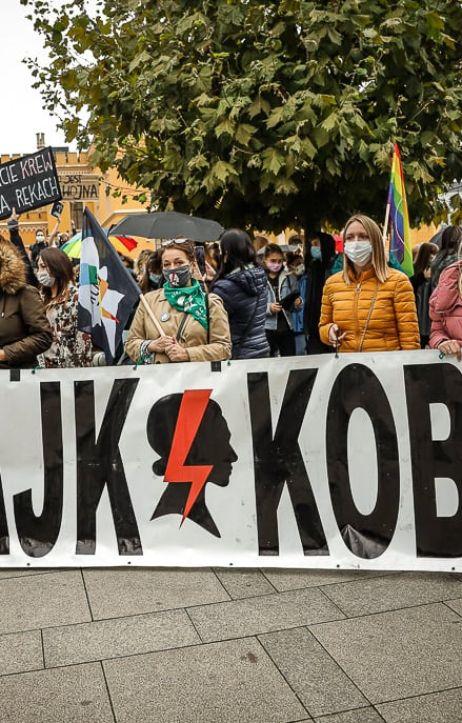 Wrocław: Rewolucja jest kobietą - manifestacja we Wrocławiu