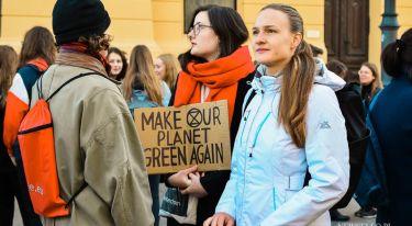 Młodzieżowy Strajk Klimatyczny w Łodzi