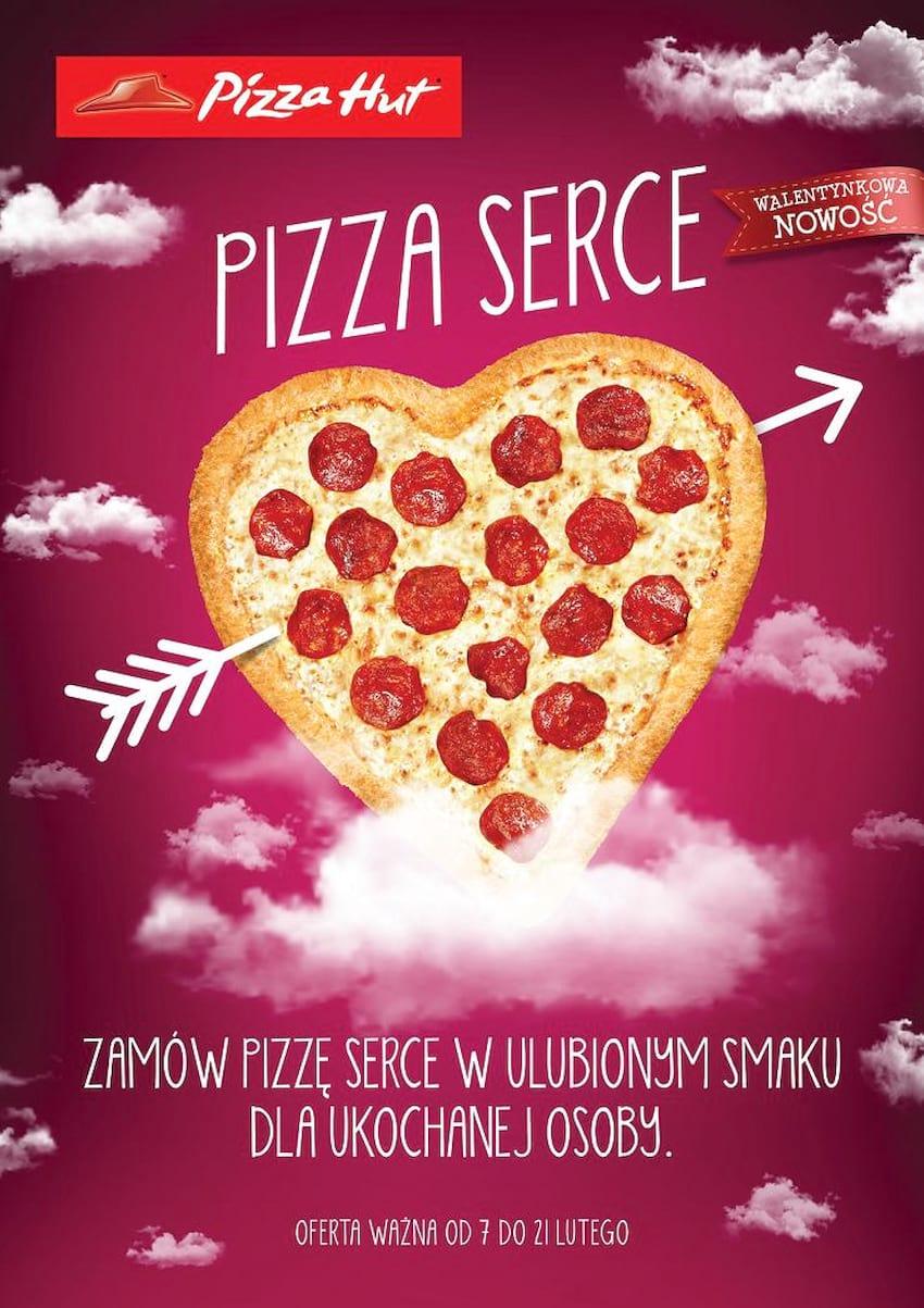 Walentynki w Pizza Hut