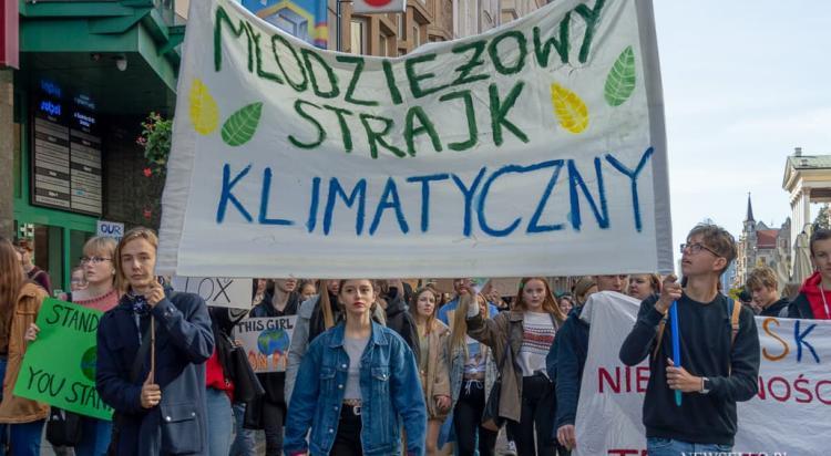 Młodzieżowy Strajk Klimatyczny we Wroclawiu