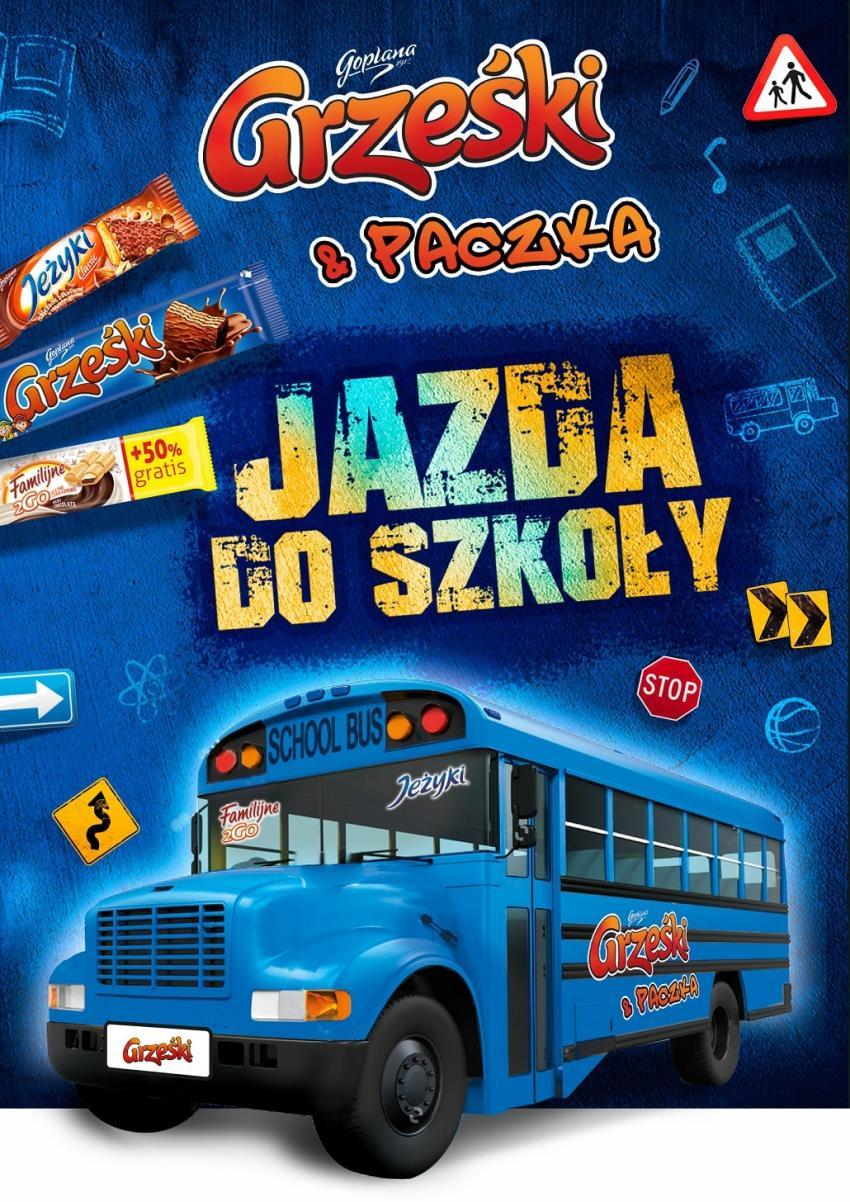 Promocja dla dzieci na Grześki i inne szkolne przekąski! [fot. materiały prasowe / Goplana]