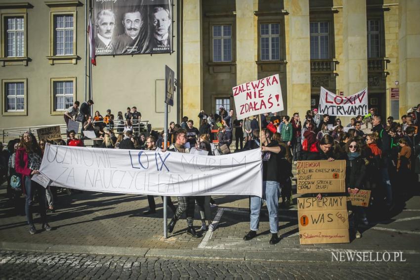 Strajk uczniowski we Wrocławiu