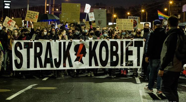 Strajk Kobiet: Marsz Ośmiu Gwiazd we Wrocławiu