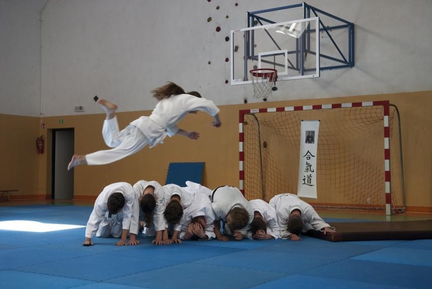 Obóz aikido dla dzieci z wrocławskich domów dziecka – czyli jak dobrze pomagać! [fot. Bartosz Pogoń]
