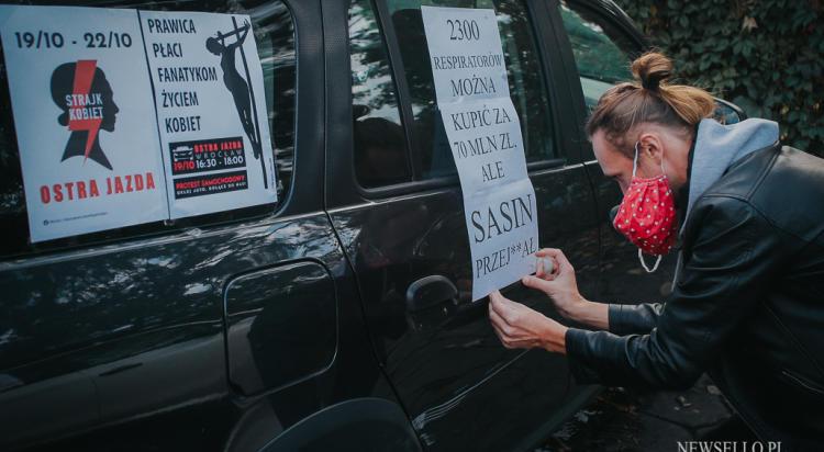 Ostra Jazda - protest samochodowy we Wrocławiu