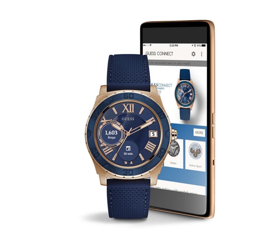 Smartwatch GUESS Android Wear: moda i technologia w jednej drużynie