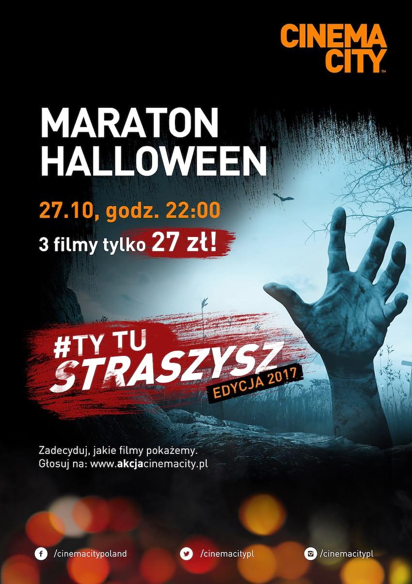 W tym roku #Ty tu straszysz! Wybierz repertuar na Maraton Halloween w twoim Cinema City!