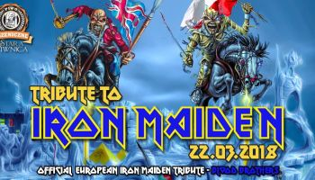 Blood Brothers  – Official Iron Maiden Tribute Band zagra w Starej Piwnicy!