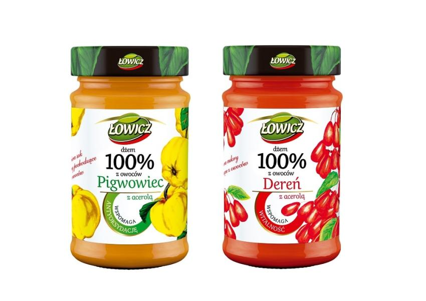 Prozdrowotne dżemy Łowicz – nowe smaki! [fot. ip]