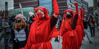 Strajk Kobiet: Patriarchat Wyp..ać  - manifa we Wrocławiu