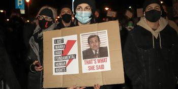 Strajk Kobiet: Gońcie się - manifestacja we Wrocławiu