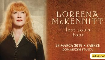 Loreena McKennitt na dwóch koncertach w Polsce