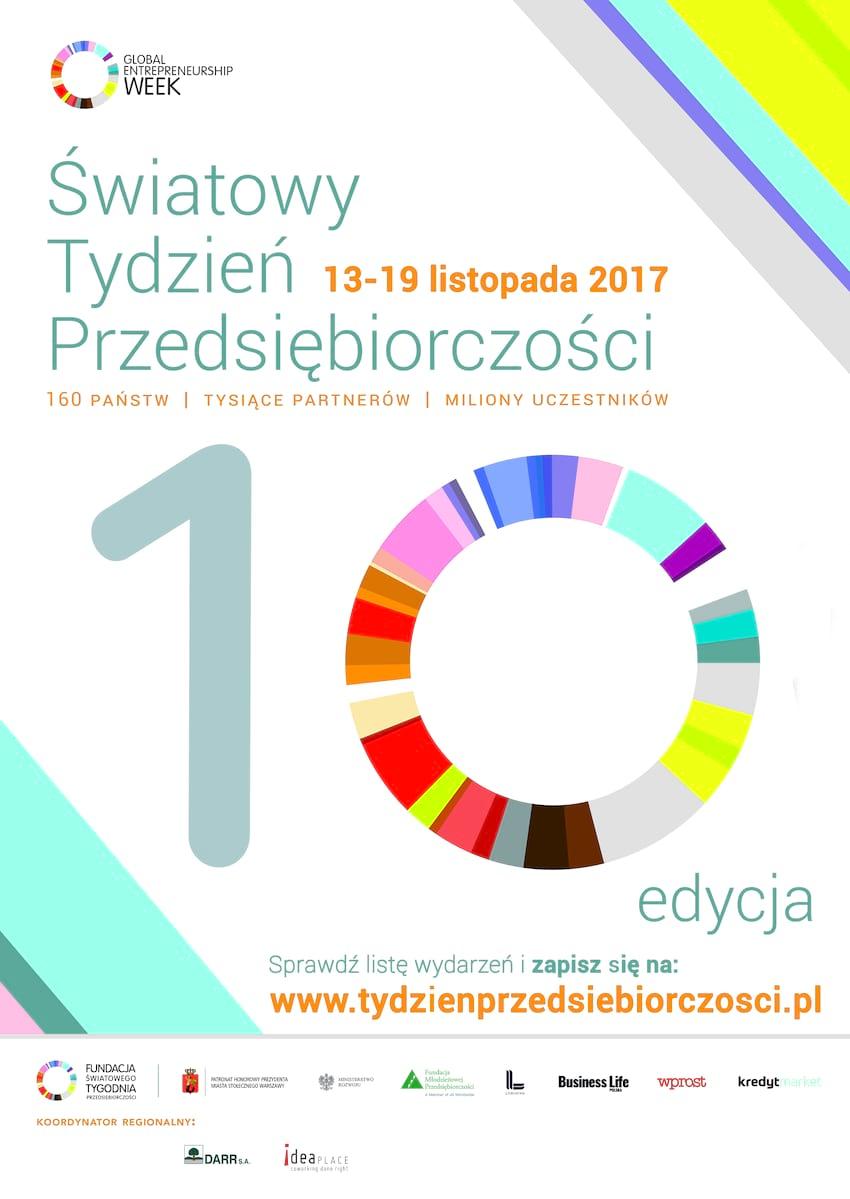 Bezpłatne warsztaty w ramach Światowego Tygodnia Przedsiębiorczości w Ideaplace 13.11 - 19.11 2017 r.