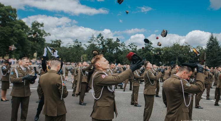 Uroczysta promocja oficerska w Akademi Wojsk Lądowych