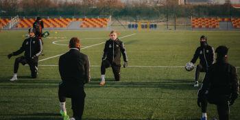Piłkarze Śląska Wrocław trenują przed rundą wiosenną
