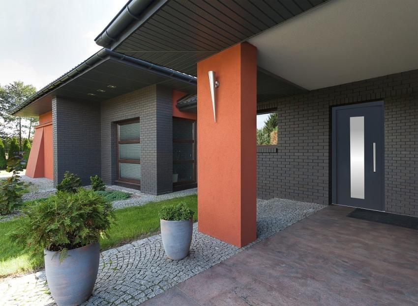 Elewacja domu, dach i okna – jak dobrać ich kolory, by wszystko ze sobą współgrało? [fot. Awilux]