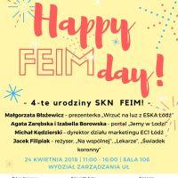 """""""Happy FEIMday!"""" – jubileusz studenckiej inicjatywy, pełen cennej wiedzy i atrakcji!"""