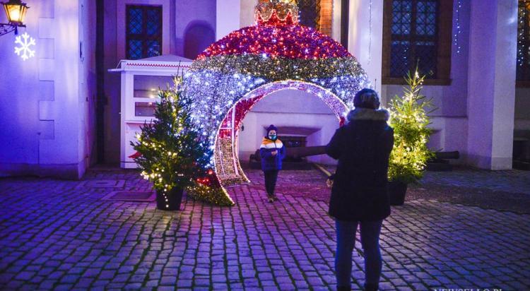 Iluminacje świąteczne w Szczecinie