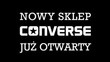 Pierwszy monobrandowy sklep Converse w Polsce otwarty!
