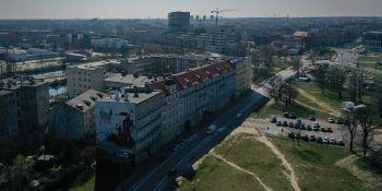 Wrocław: Koronawirus 2020: Wrocław z lotu ptaka