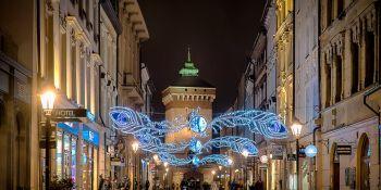 Iluminacje świąteczne w Krakowie