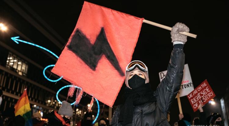 Strajk Kobiet 2021: Czas próby - manifestacja w Warszawie