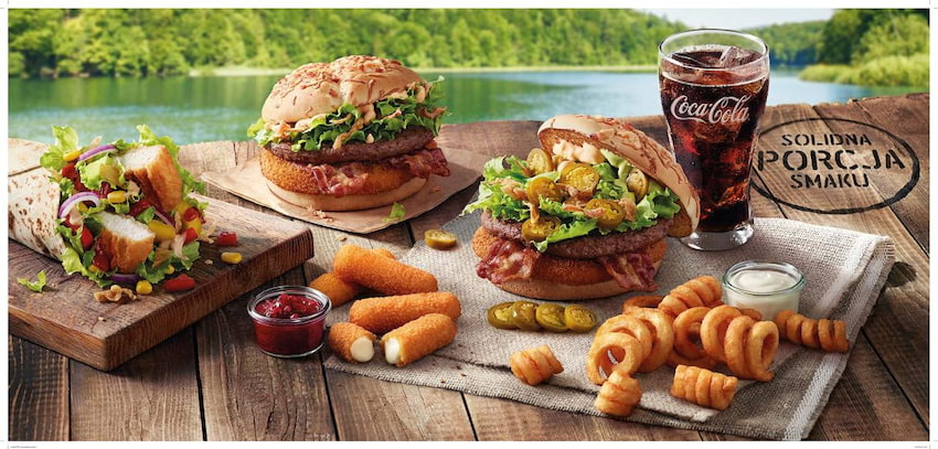 Solidna porcja smaku w McDonald's
