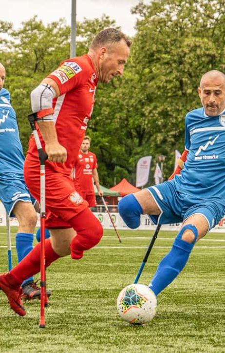 Warszawa: Amp Futbol Cup: Polska - Izrael 11:0
