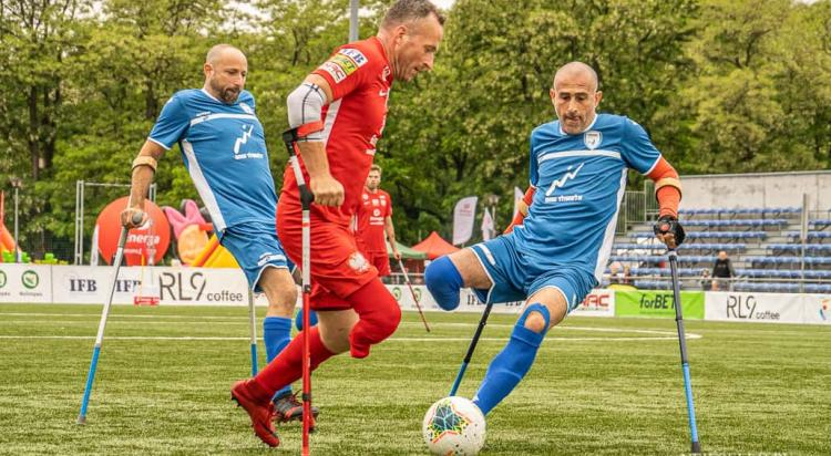Amp Futbol Cup: Polska - Izrael 14:0