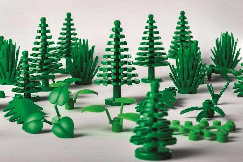 Botaniczne elementy LEGO – czyli bioplastik w akcji! [fot. materiały prasowe]