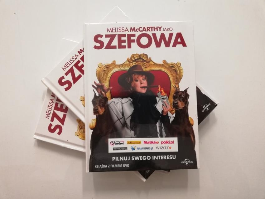 """Chwila śmiechu – do wygrania komedia """"Szefowa""""!"""