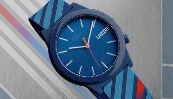 Fluorescencyjna kolekcja zegarków Lacoste