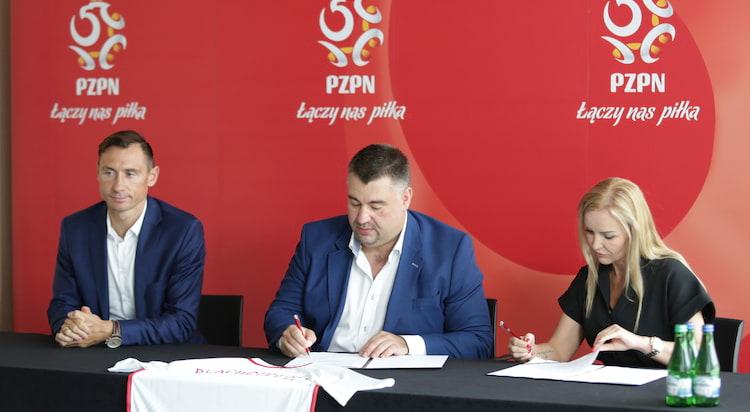 Blachotrapez przedłuża kontrakt z Reprezentacją Polski